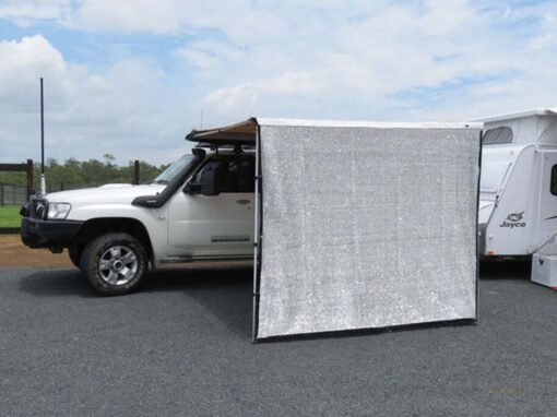 4x4 straight awning screen