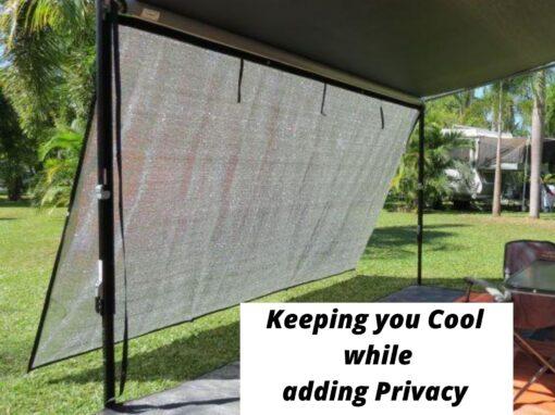 Caravan Privacy Screen